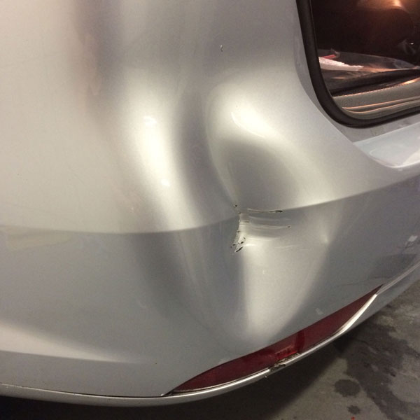 Damaged Bumper